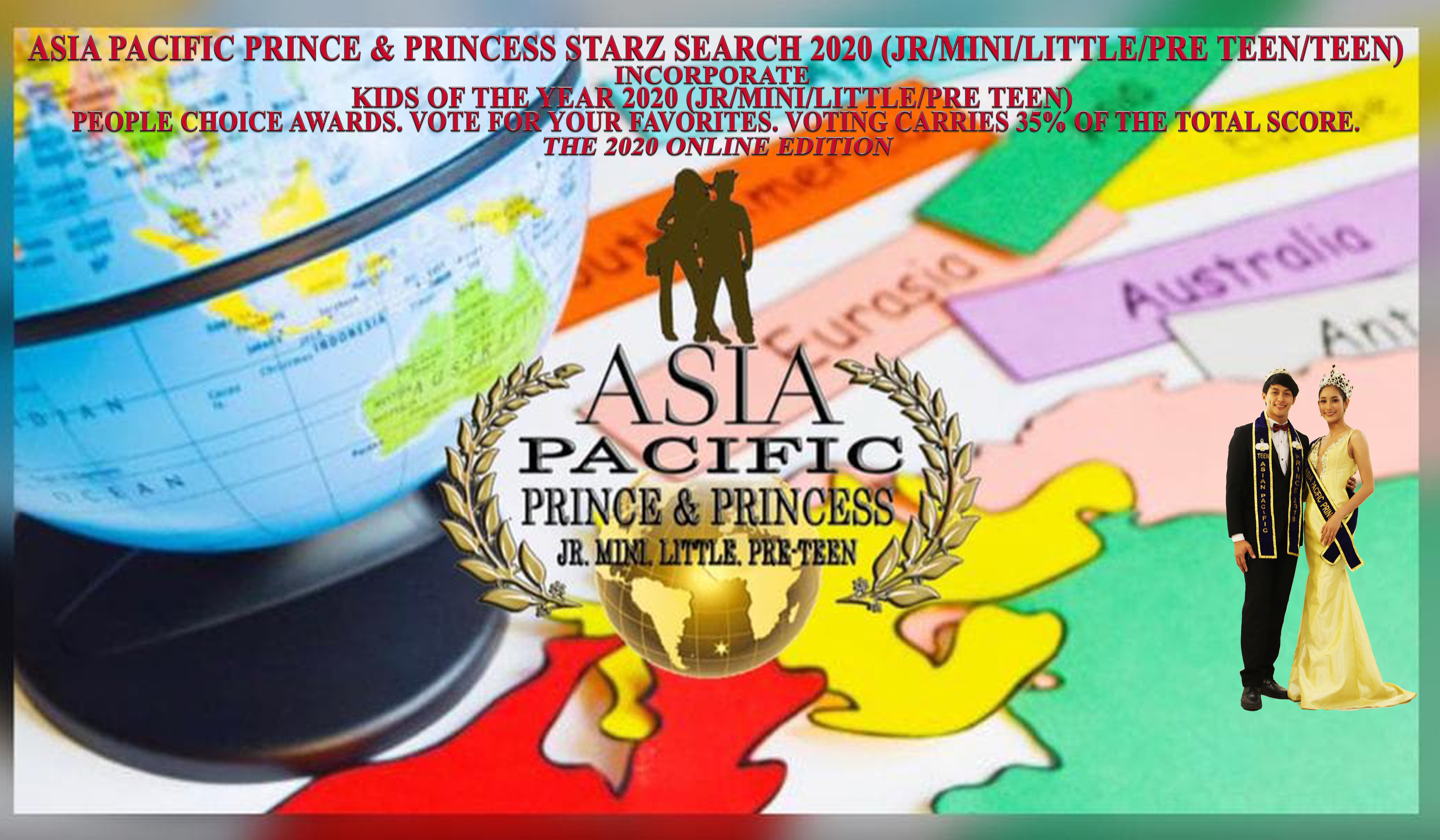 Teen asia pacific prince   princess 2020 poster new latest 001a